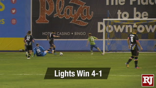 Las Vegas Lights Win 4-1 Against Seattle