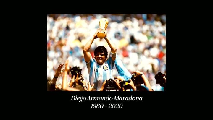 El vídeo de la selección argentina a Maradona que pone la piel de gallina