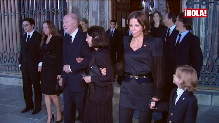 La realeza, presente en el multitudinario funeral de Kardam de Bulgaria en Madrid