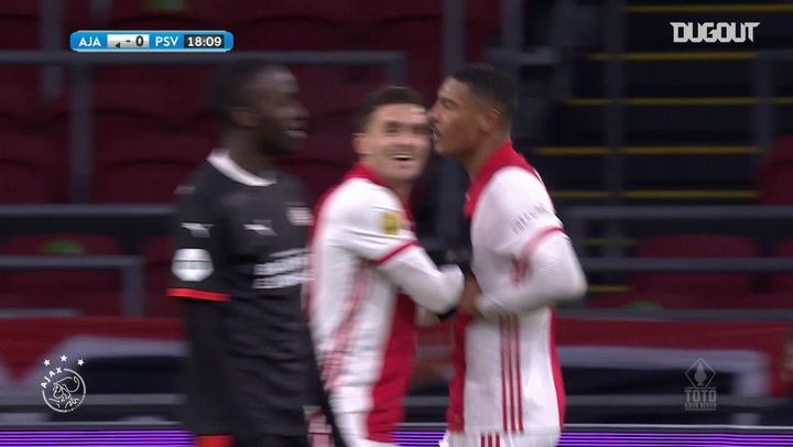 Haller's brace sends Ajax to KNVB Cup semi-final