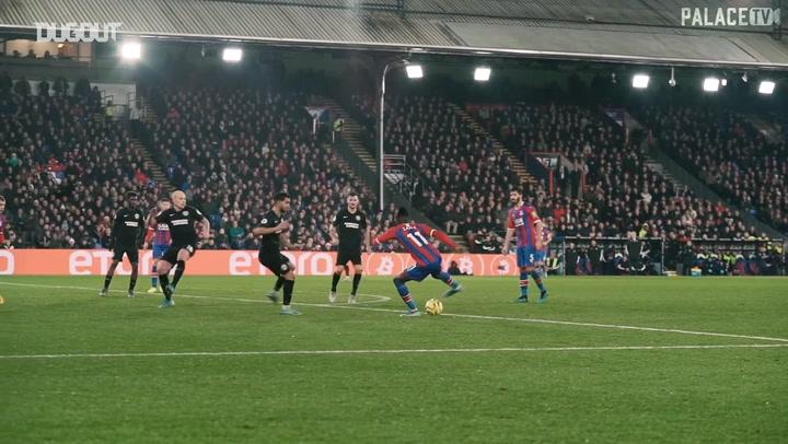 Zaha's goal vs Brighton raises the roof at Selhurst Park