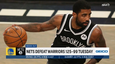 Kevin Durant, Kyrie Irving, and the Brooklyn Nets have a big opening night