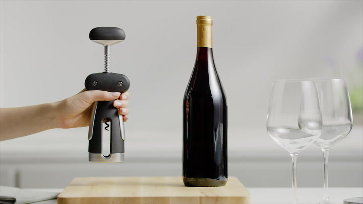 Preview image of OXO Steel Winged Corkscrew With Foil Cutter video