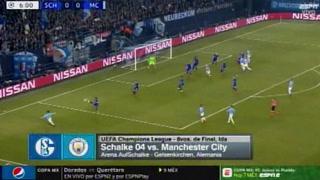 Manchester City remonta al Schalke 04 y se acerca a cuartos de final de la Champions League