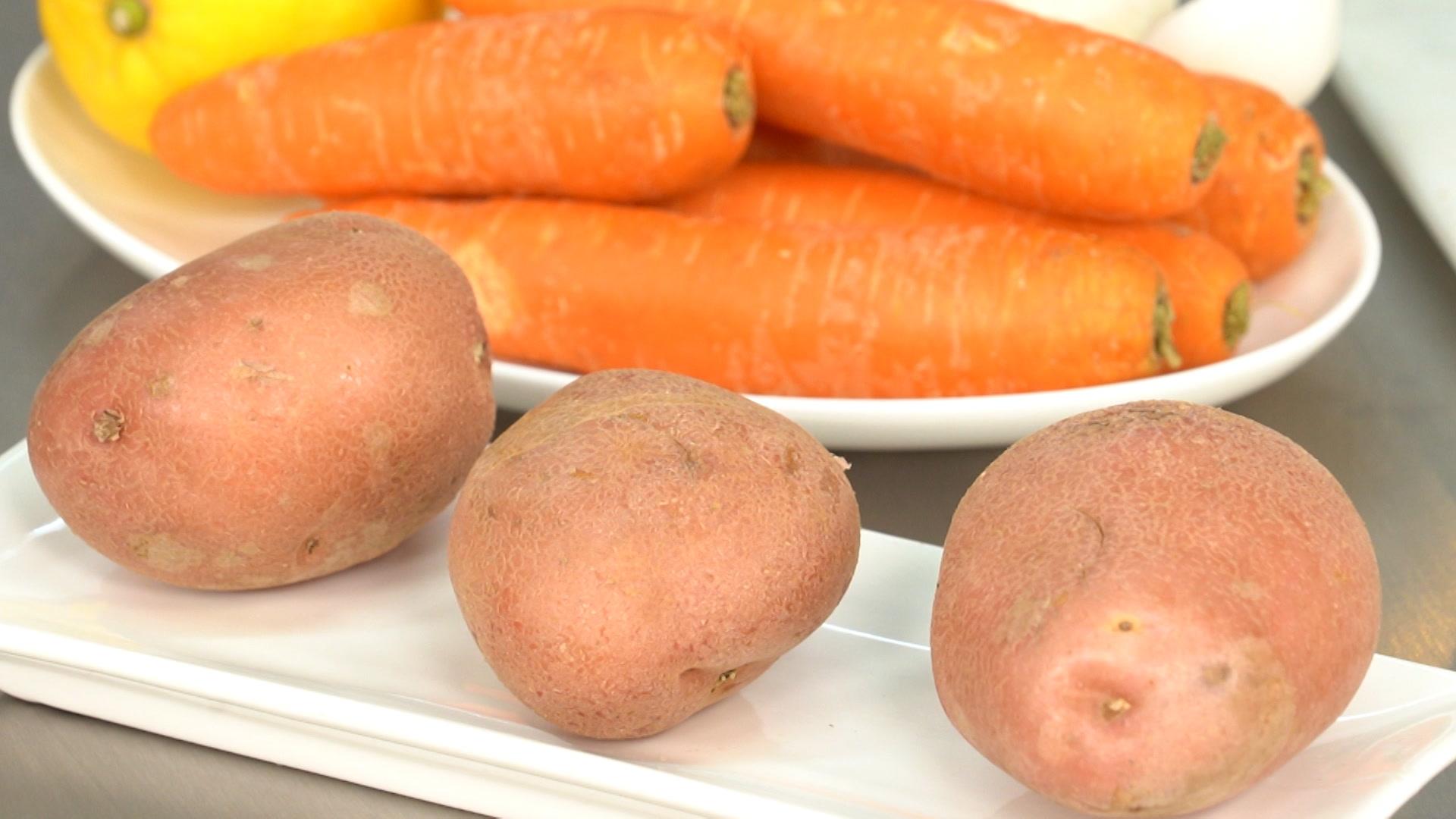 Beneficios de la piel de la patata