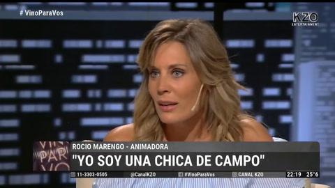 Rocío Marengo habló de su enfermedad y quebró en llanto