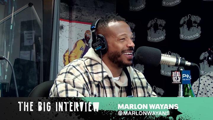 Marlon Wayans Talks Growing Up As A 'Wayans'