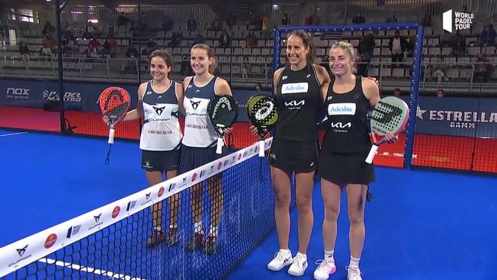 Resumen de la Final Femenina Triay - Salazar Vs Josemaría - Sánchez del Estrella Damm Alicante Open