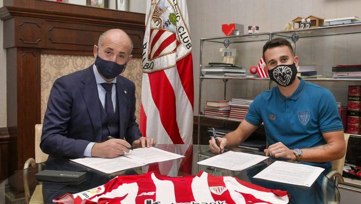 """Álex Berenguer: """"Fichar por el Athletic es un orgullo, daré todo por esta camiseta"""""""