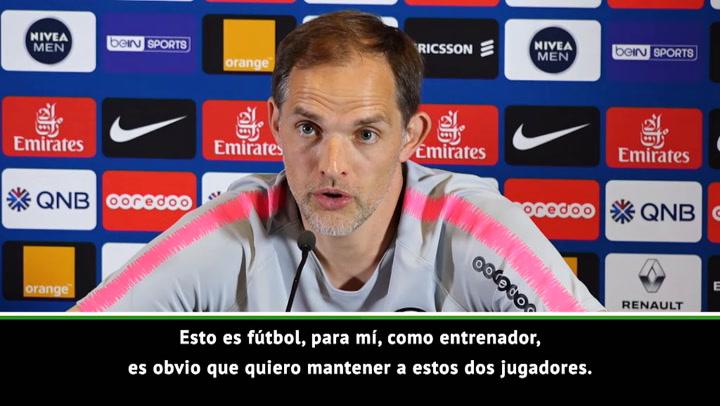 """Tuchel: """"Si se van Mbappé o Neymar encontraremos soluciones"""""""