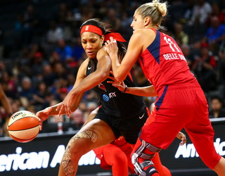 Aces coach Bill Laimbeer calls loss to Mystics 'disappointing'