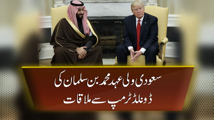 Trump and Mohammed bin Salman meet in White House