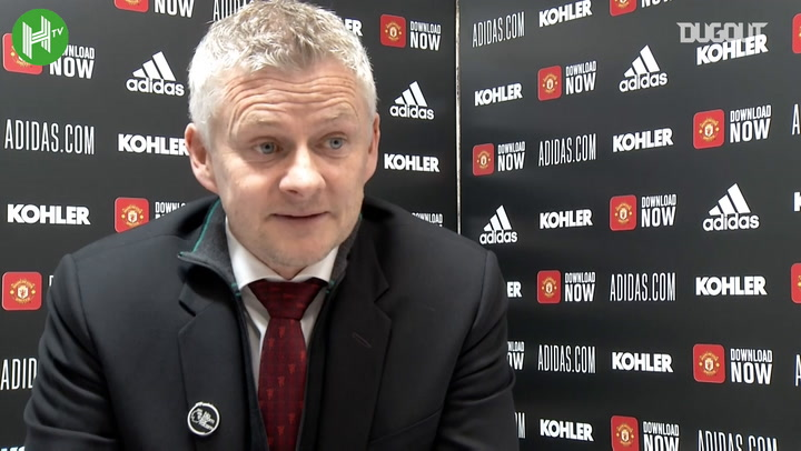 Solskjær on European Super League and chasing Man City
