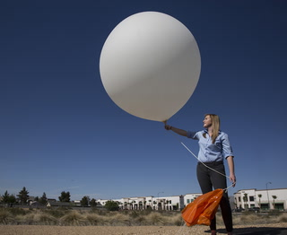 Weather Balloon Collects Key Data