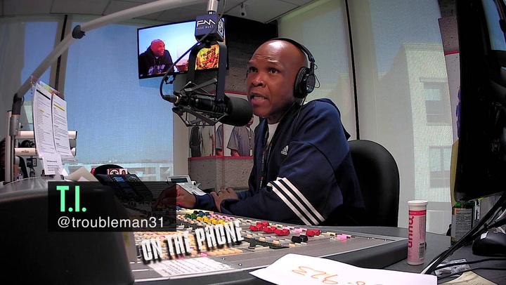 T.I. Talks Kanye's White House Visit
