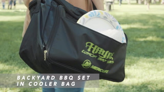Backyard BBQ Set In Cooler Bag