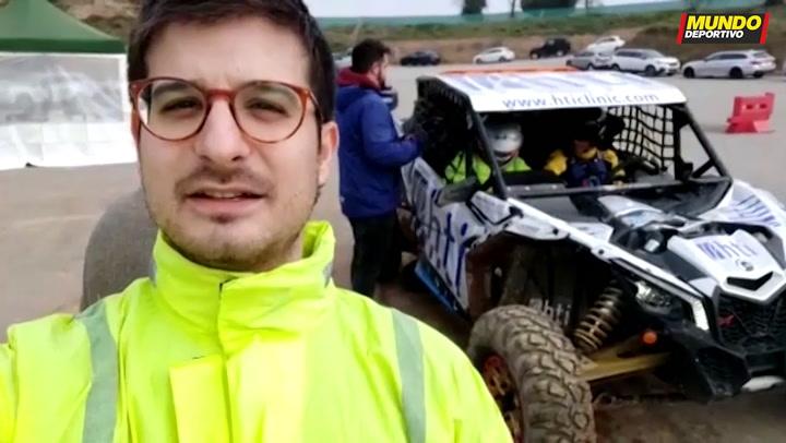 Nos montamos en el buggy para el Dakar 2020 de Gerard Farrés