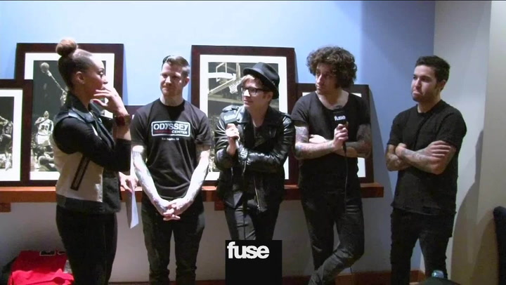 Interviews: Fall Out Boy All Star Game