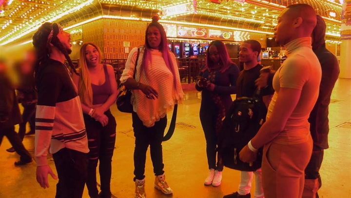 Team Freedia Zip Lines Across Vegas