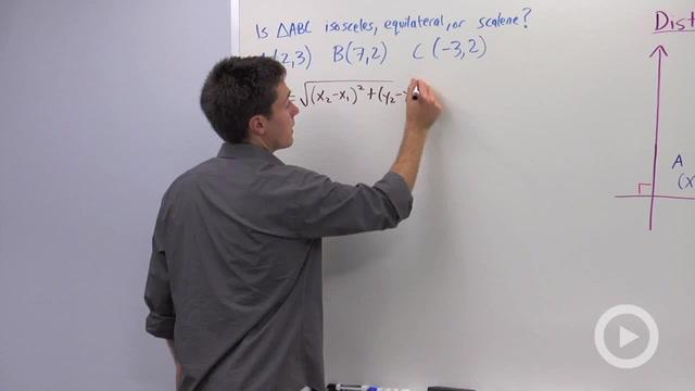 Distance Formula - Problem 2