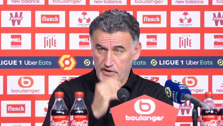 """33e j. - Galtier : """"Le but de Montpellier nous a assommé"""""""