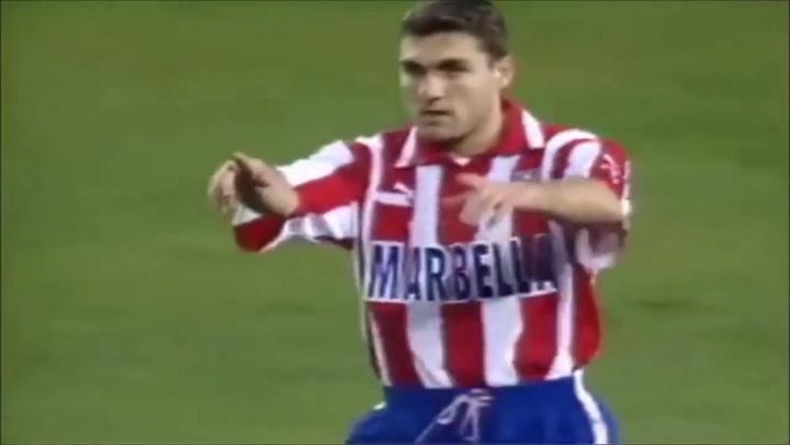 Los 24 goles de Christian Vieri (Atletico Madrid) (La Liga 1997/98)