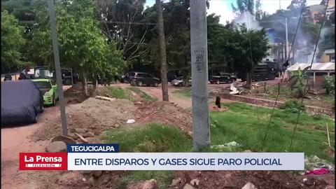 Policías hondureños, en huelga de
