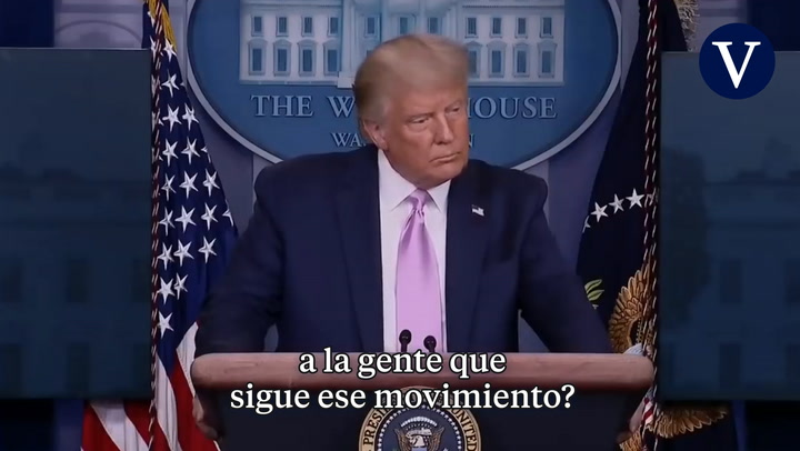 Trump sobre QAnon