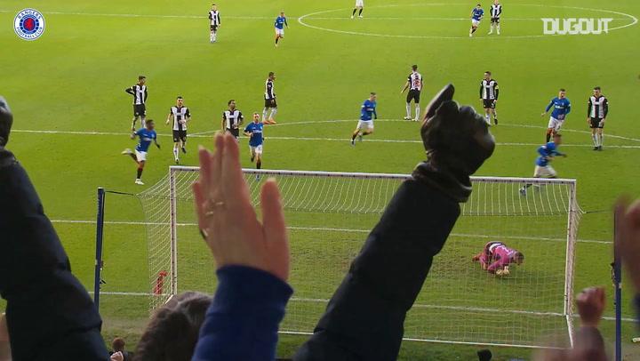 Rangers score three penalties in St Mirren win