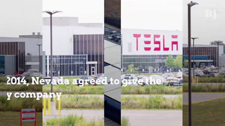 Tesla's Nevada Gigafactory ahead of economic impact expectations