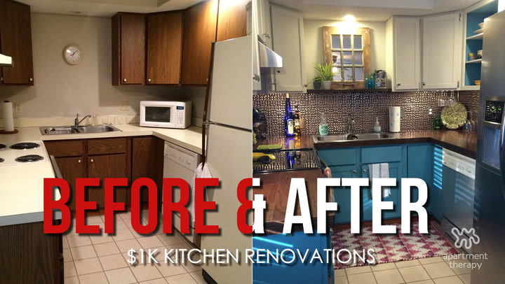 Kitchen Renovations on a Budget - Video | Apartment Therapy on house balcony ideas, house entrance ideas, house roofing ideas, house restaurant ideas, house foyer ideas, house den ideas, house pool ideas, house wet bar ideas, house garage ideas, house basement ideas, house beautiful kitchens, rustic house ideas, house furniture ideas, house loft ideas, vintage house ideas, house fireplace ideas, house cleaning ideas, house paint ideas, house deck ideas, house interior ideas,