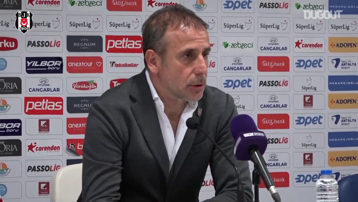 Abdullah Avcı Antalyaspor Maçının Ardından Konuştu