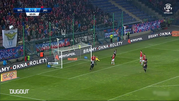 Karol Swiderski's best goals with Jagiellonia