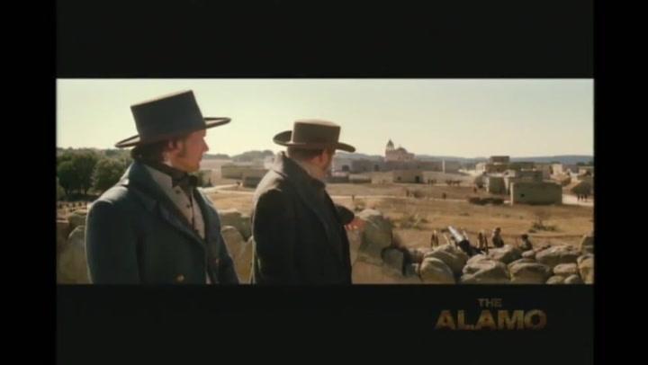 The Alamo set featurette