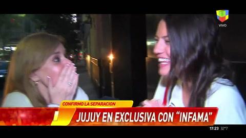 Vecina incomodó a Jujuy al preguntarle por el Pelado en un móvil de Infama
