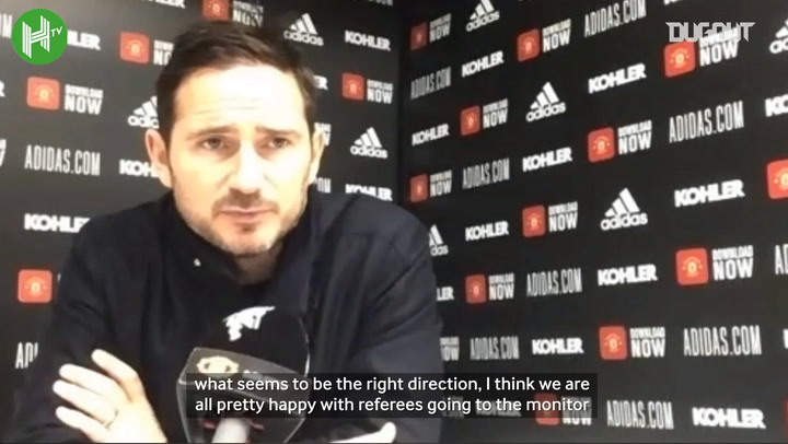 Lampard: 'Referees must go to the VAR monitors'