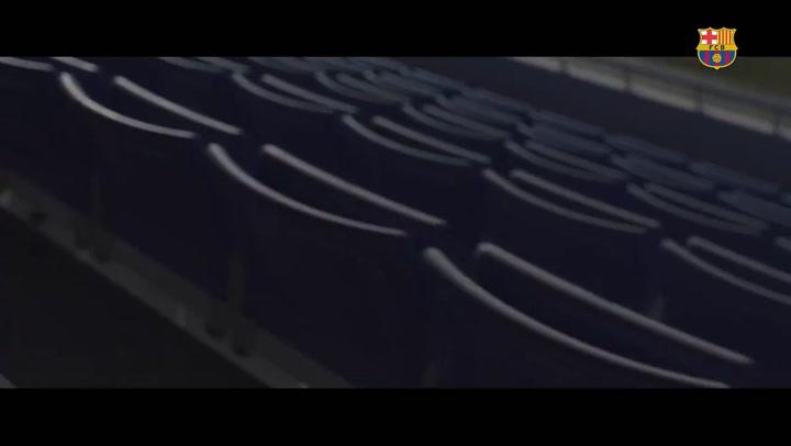 El Barça ya calienta el estreno liguero de este sábado contra el CD Tacón