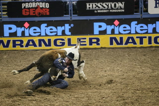 2017 National Finals Rodeo third go-round results
