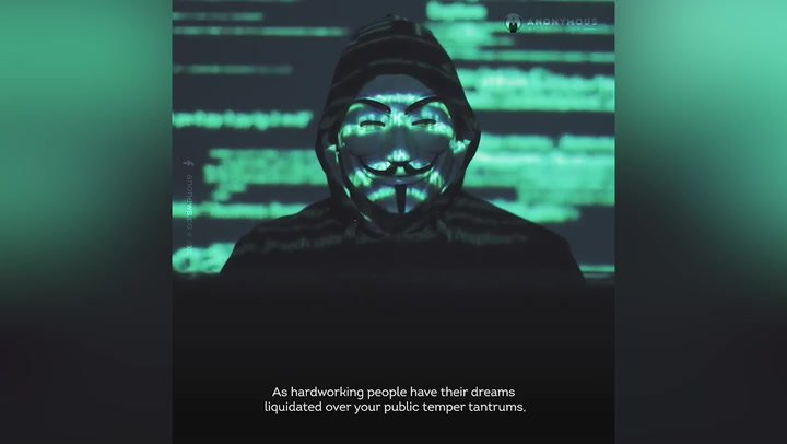 Hacking group Anonymous issues threat to Elon Musk