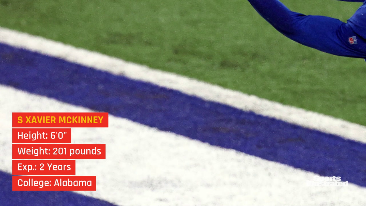Xavier McKinney: Giants Training Camp Preview