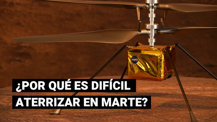 Robot Perseverance: ¿Por qué es tan difícil aterrizar en Marte?