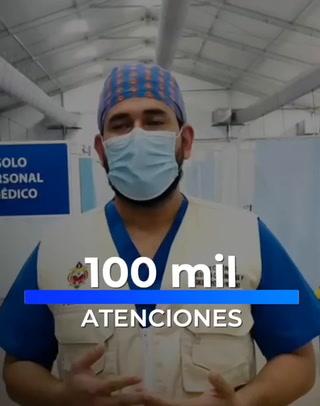 100 mil pacientes ha atendido el Centro de Triage del San Juan Pablo II en la capital