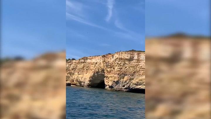 Así pasa estos días Neymar en El Algarve de Portugal