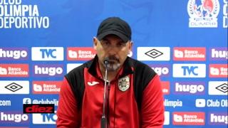Tato García reaccionó incómodo tras perder con el Olimpia: