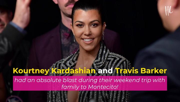 Kourtney Kardashian Rocks A Leopard Print Bikini