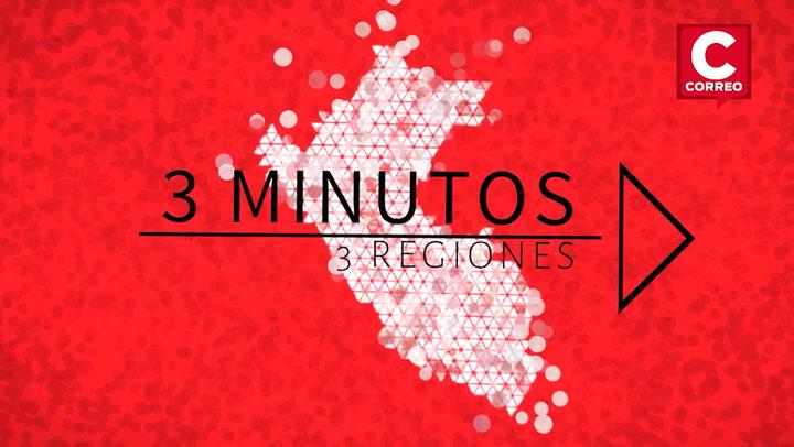 Noticias de regiones en 3 minutos: ¿Qué ha pasado en Lambayeque, Junín y Arequipa?