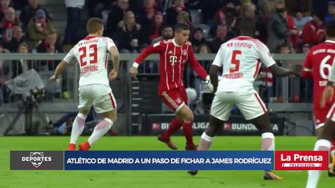 Atlético de Madrid a un paso de fichar a James Rodríguez