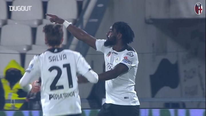 Bologna's last minute draw against Spezia