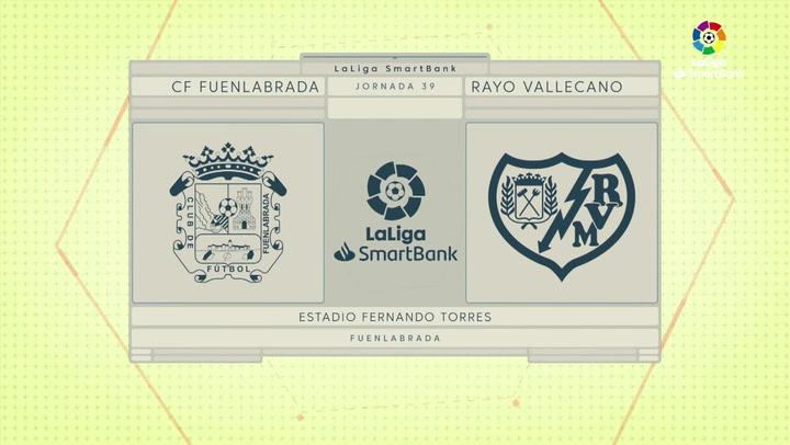 LaLiga Smartbank (Jornada 39): Fuenlabrada 1-2