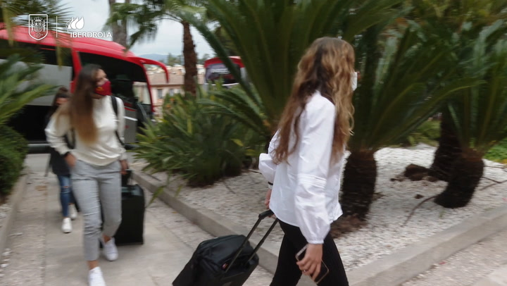 La selección española femenina ya está en Marbella